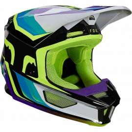 CASCO FOX V1 GAMA yelow motocross, enduro