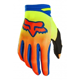 Guanto Motocross FOX 180 OKTIV giallo fluo   Enduro Mtb Freeride Downhill