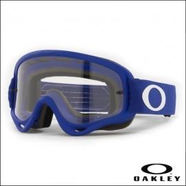 Maschera Oakley O Frame blu lente chiara motocross enduro dh