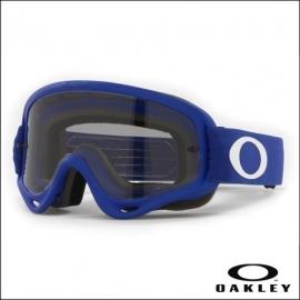 Maschera Oakley O Frame blu lente fume' motocross enduro dh