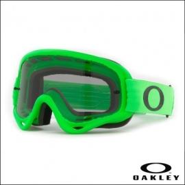 Maschera Oakley O Frame verde lente fume' motocross enduro dh