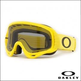 Maschera Oakley O Frame gialla lente fume' motocross enduro dh