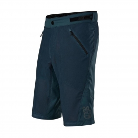 TROY LEE DESIGNS SKYLINE AIR SHORT SHELL blu marine pantaloncino  MTB DH ENDURO