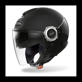 Casco Airoh HELIOS FLUO scooter vespa moto nero lucido e opaco