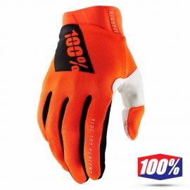 Guanto 100% RIDEFIT arancione fluo motocross Enduro  mtb