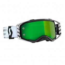 Maschera SCOTT PROSPECT lente specchiata verde motocross enduro dh