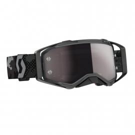 Maschera SCOTT PROSPECT lente specchiata argento motocross enduro dh
