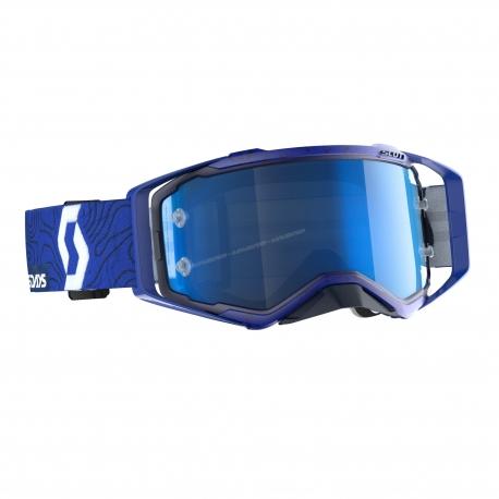 Maschera SCOTT PROSPECT SIX DAYS ITALY lente specchiata blu motocross enduro dh