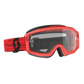 Maschera SCOTT SPLIT OTG rossa per occhiali da vista motocross enduro dh