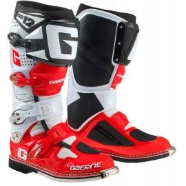 Stivali GAERNE SG-12 bianco rosso nero motocross enduro