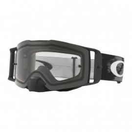 Oakley Front Line MX Matte nero Speed Lente chiara mascheracross Enduro Mtb