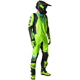 Completo motocross FOX 360 DIER giallo fluo Enduro Quad