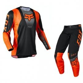 Completo motocross FOX 360 DIER arancio fluo Enduro Quad