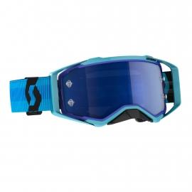Maschera SCOTT PROSPECT lente specchiata blu motocross enduro dh
