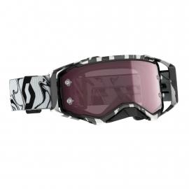 Maschera SCOTT PROSPECT AMPLIFER lente specchiata rossa motocross enduro dh