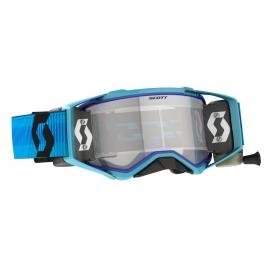 Maschera SCOTT PROSPECT WFS blu con roll off motocross enduro dh