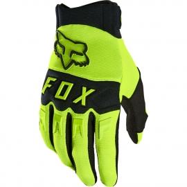 Guanto Motocross FOX Dirtpaw nero bianco Enduro Mtb Freeride Downhill