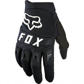 FOX Dirtpaw Guanto Motocross Minicross Bimbo Enduro nero e bianco