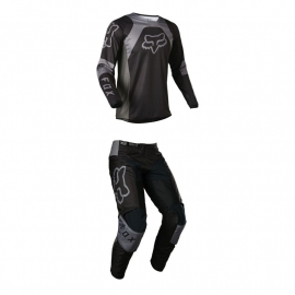 Completo motocross FOX 180 LUX nero enduro quad