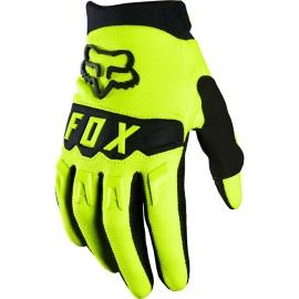 FOX Dirtpaw Guanto Motocross Minicross Bimbo Enduro giallo fluo e nero