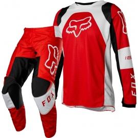 Completo Minicross FOX 180 LUX  rosso fluo  Ragazzo