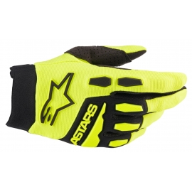 ALPINESTARS GUANTO FULL BORE giallo fluo motocross enduro quad mtb