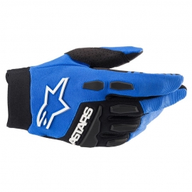 ALPINESTARS GUANTO FULL BORE blu nero motocross enduro quad mtb
