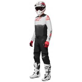 Completo motocross Alpinestars  Supertech FOSTER 22nero biaco enduro Quad