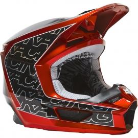 CASCO FOX V1 TRO ECE 2021 aqua motocross, enduro