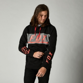 FOX FELPA CON CAPPUCCIO MERZ nera casual motocross
