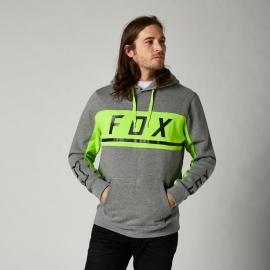 FOX FELPA CON CAPPUCCIO MERZ grigio chiaro casual motocross