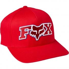 FOX CAPPELLINO FLEXFIT ELLIPSOID rosso fiamma