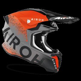 CASCO AIROH TWIST 2.0 BIT arancione opaco motocross, enduro quad