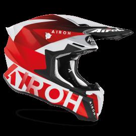 CASCO AIROH TWIST 2.0 LIFT rosso opaco motocross, enduro quad