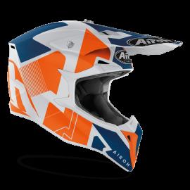 CASCO AIROH WRAAP RAZE arancio opaco motocross, enduro quad