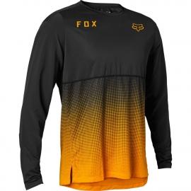Maglia manica lunga FOX FLEXAIR nera e bronzo Downhill ENDURO MTB