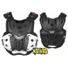 LEATT Chest Protector 4.5 Nera pettorina Motocross Enduro Mtb Dh