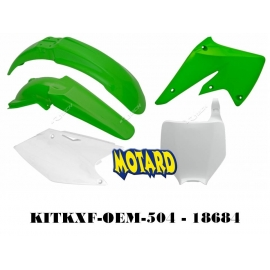 RTECH KIT PLASTICHE KAWASAKI KXF 250 2004-2005