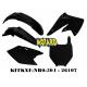 RTECH KIT PLASTICHE KAWASAKI KXF 250 2004-2005 PROMO