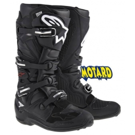 ALPINESTARS TECH  7 BLACK  STIVALE CROSS