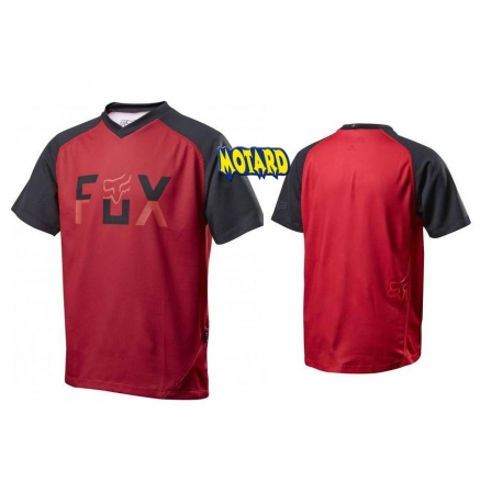 FOX RANGER SS JERSEY RED/BLACK versione bimbo