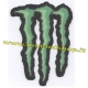 MONSTER ENERGY PATCH ADESIVA IN TESSUTO