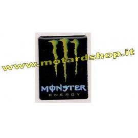 MONSTER ENERGY ADESIVO RETTANGOLARE 3D SALDO