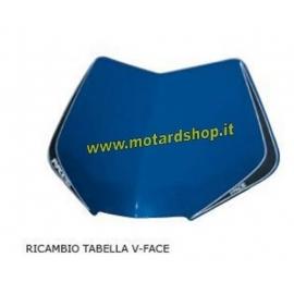 RTECH TABELLA PORTANUMERO FANALE BICOLORE V-FACE