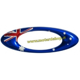 OAKLEY AUSTRALIA FLAG O STICKER