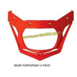 RTECH BASE PORTANUMERO FANALE BICOLORE V-FACE