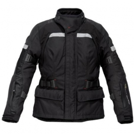 REV'IT LEGACY GORETEX DONNA TEXTILE JACKET BLACK SALDO