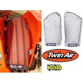 TWIN AIR RADIATOR SLEEVS RETINA RADIATORI KTM  2016 - 2017