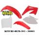 RTECH KIT PLASTICHE HONDA CRF 450 2002-2003