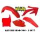 RTECH KIT PLASTICHE HONDA CRF 450 2005-2006